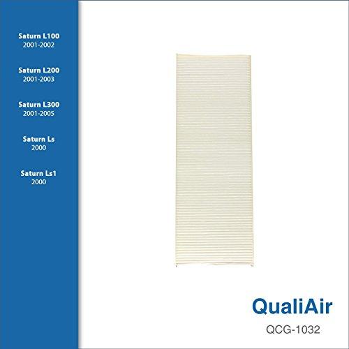 QualiAir QCG-1032, Cabin Air Filter for Saturn (1Packs)