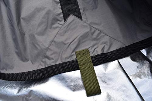 Arcadia Gear 10ft x 10ft Thermal Reflective Ultralight Water Proof Nylon Survival Tarp | The Mongrel EDT | Designed for When Your Life Depends On It
