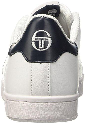 Sergio Tacchini Gran Torino Velcro - deportivas bajas Hombre Bianco (White/Navy)