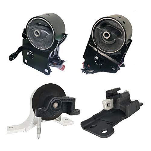 Engine Motor Mount Fits 2004 2005 2006 Nissan Maxima 3.5L Engine Motor &Transmission Mount w/Sensor 4 PCS : A7349EL A7348,A7351,A7358EL