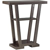 Convenience Concepts Modern Newport V Console Table, Rich Espresso