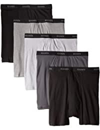 Hanes Men's 5-Pack Ultimate FreshIQ Boxer Brief - Colors...