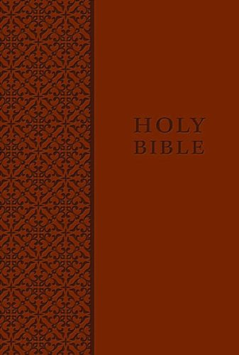 KJV Study Bible, Personal Size, Imitation Leather, Brown, Red Letter Edition (Signature)