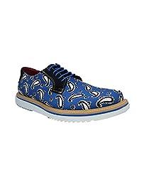 Zapato Casual para Caballero Suela Extra Ligth Color Amibas Azules