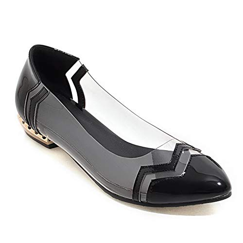 Womens Shoes APL10466 Novelty Urethane Colors BalaMasa Weekender Black Assorted Pumps HpTpwq