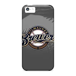 AnnetteL iPhone 5 5s Well-designed Hard Case Cover Milwaukee Brewers Protector