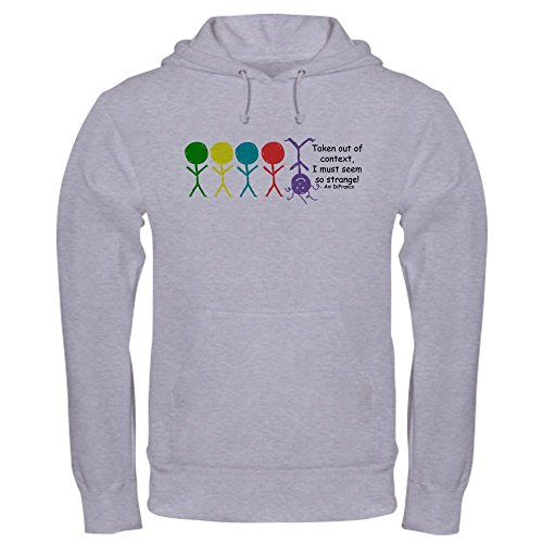 (CafePress Out of Context Pullover Hoodie, Classic & Comfortable Hooded Sweatshirt Heather Grey)
