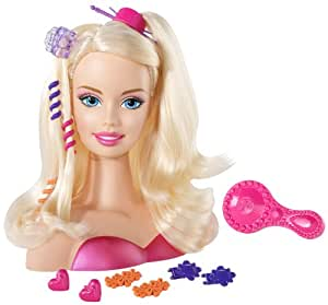 V0835 Barbie - Diseño Barbie rubia cabeza