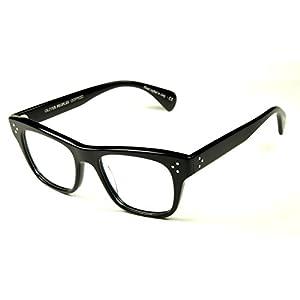 Oliver peoples Jack Huston eyeglasses Col. 1005 Black size 52 New