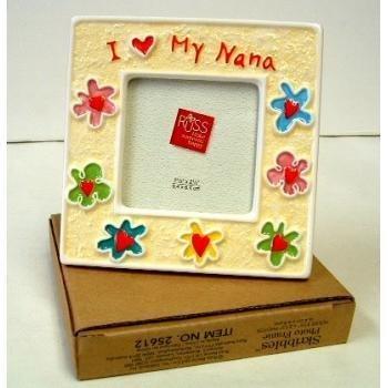 Amazon.com - I Love My Nana Mini Russ Skribbles Frame - Single Frames