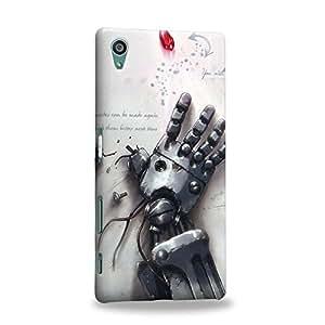 Case88 Premium Designs Fullmetal Alchemist Brotherhood Philosophers' stone Carcasa/Funda dura para el Sony Xperia Z5