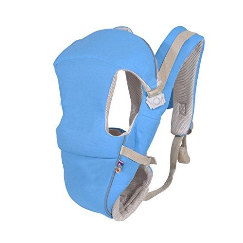 Blue Sky Carrier (ClothingTalks 0-24 Months Ergonomic Breathable Carrier Baby Sling Backpack)