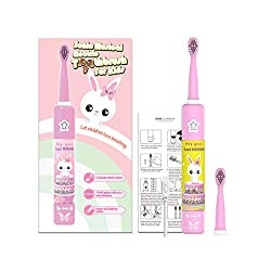 OJV 8620 Baby Electric Toothbrush Soft Bristles Round The Top Of The Toothbrush Head2 Minutes Smart Timer 30 Seconds To Change Area Reminder (yellow)