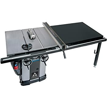 """delta 3 hp motor 10 in unisaw with 52 in biesemeyer fence system table saw bosch delta 34 802 unisaw 10"""" tilting arbor"""