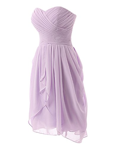 Gowns Prom Dress Party Chiffon Grape Dresses Evening Short Strapless Bridesmaid Cdress Rfz6az