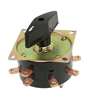 DealMux 8 Sección 9 Terminales de soldadura de la máquina del interruptor de cambio de combinación, 380V, 40 amperios, 1 Poles: Amazon.es: Industria, ...