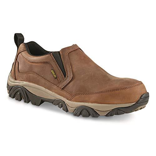 Guide Gear Men's Arrowhead II Leather Waterproof Slip-on Shoes
