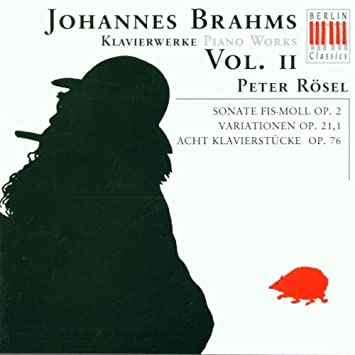 Johannes Brahms: Piano Works, Volume II