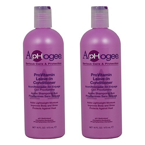 ApHogee ProVitamin Leave-In Conditioner 16oz Pack of 2
