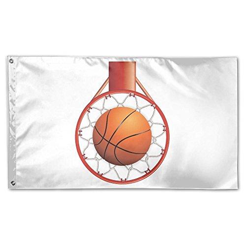 Garden Flag Basketball Rim 3x5ft Home Yard Flag Wall Banners