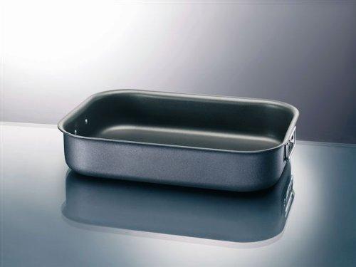 2 opinioni per Ballarini Salento Teglia Rettangolare, Alluminio, Nero, 35 x 25 cm