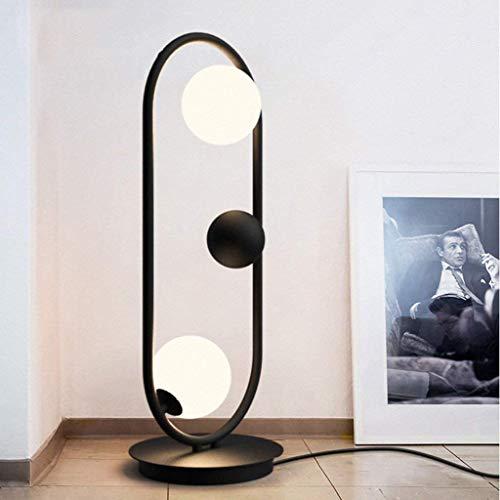 SLM-max Floor Lamps Living Room lamp Romantic Vertical lamp Living Room Bedroom Oval Glass Ball Floor - Iron Lamp Oval Floor