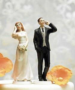 Weddingstar Cell Phone Fanatic Groom Mix Match Cake Topper