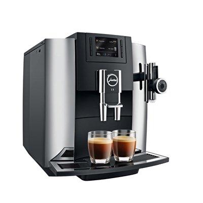 Jura 15097 Automatic Coffee Machine E8, Chrome