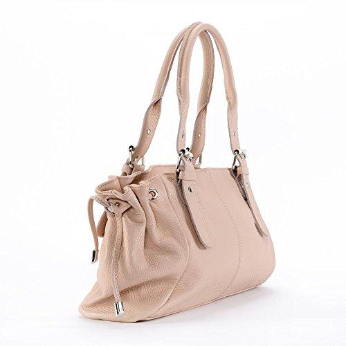BAG MY Sac femme Main CUIR Princesse à Rose Modèle OH qg5xdY