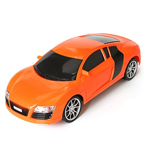 1/16 Scale Radio Remote Controlled Car Electric RC Vehicle Sports Car Drifting Race Model Car for Kids Adults Orange Audi Remove Audi Radio