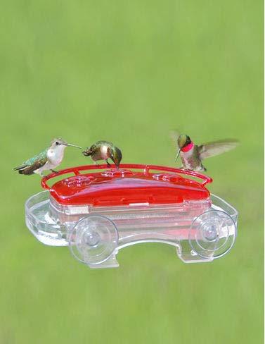 Aspects 407 Jewel Box Window Hummingbird Feeder, 8-Ounce