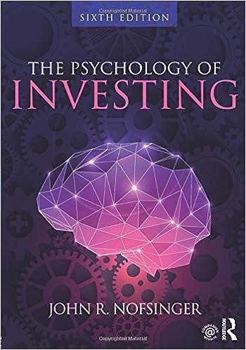 Psychology of investing amazon allegro investments llc