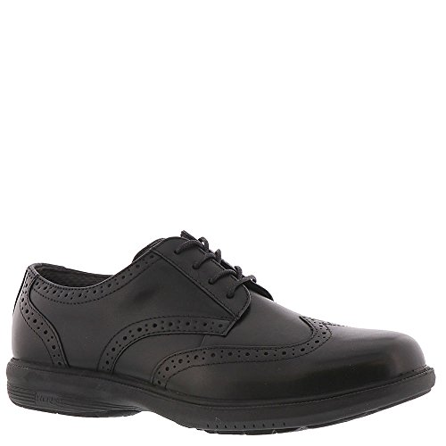 Nunn Bush Mens Maclin ST. Wing Tip Oxford Black ymgMPhWd0t