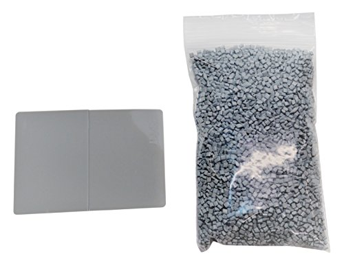 Hd Printables 51 Pla Master Batch Colorant And 2 Kg Or 4 4 Lb  Of Ingeo 4032D Pellets  80 G  Gray