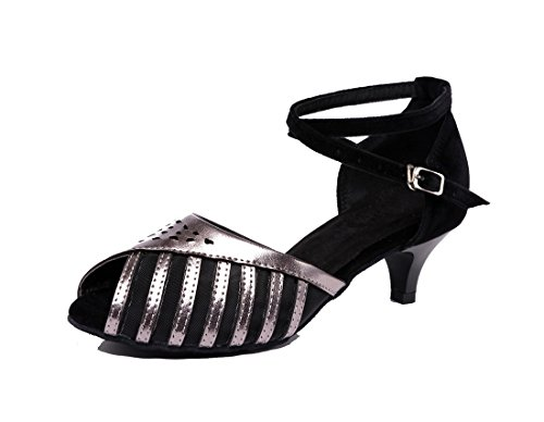 Jazz Black Heel Y 4 MGM 5cm Joymod Mujer Contempóraneo Grey O1xZq