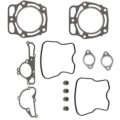 CQYD New Top End Head Bottom Gasket Kit for Kawasaki KAF620 Mule 2500 2510 3000 3010 3020