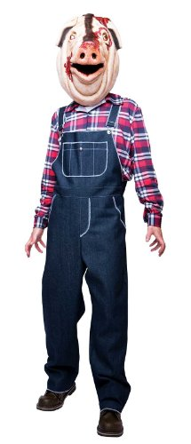 Motel Hell Pig Adult Costume - Small