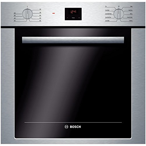 Bosch HBE5451UC 500 24'' Stainless Steel Electric Single Wall Oven - Convection