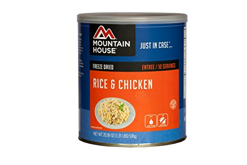 Mountain House Rice & Chicken #10 Can (Mountain House Dehydrated Food)