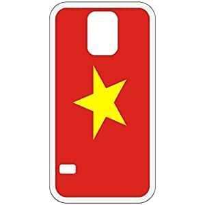 Vietnam Flag White Samsung Galaxy S5 Cell Phone Case - Cover