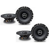 Alpine SPS-610 6-1/2 Coaxial 2-Way Speaker Set Bundle