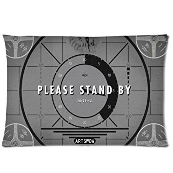 ARTSWOW Custom Fallout 4 Please Stand Pillowcase 20'X30' Pillow Protector Cover