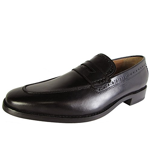 Cole Haan Heren Giraldo Grand Penny Ii Slip Op Loafer Dress Schoenen Zwart