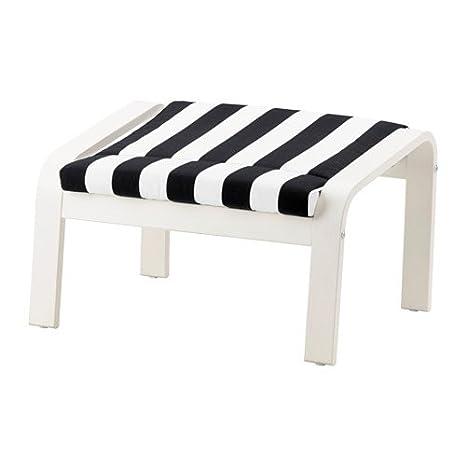 Ikea Ottoman, Blanco, Stenlinegro/Blanco 12204.26511.1834 ...