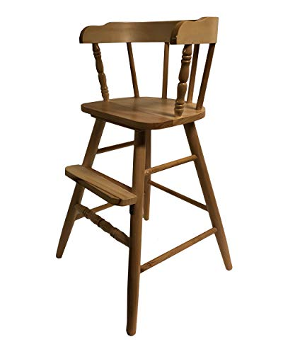 Solid Wood Sargent's Youth Chair with Several Finish Options (Clear Coat)