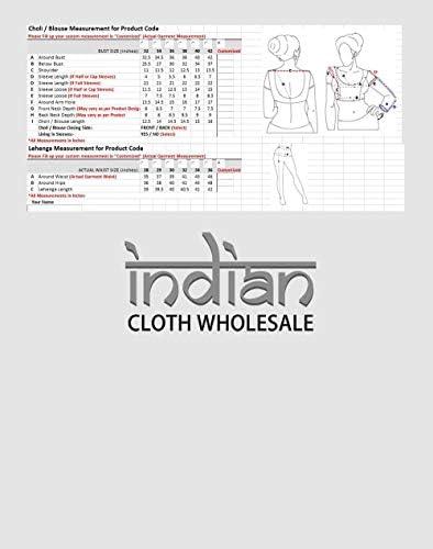Indiano Donne Designer Partywear Etnico Tradizionale Maroon Lehenga Choli. ICW2677-3