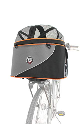 DoggyRide Cocoon XL Bicycle Basket with Rack Adapter for existing Front or Rear Rack