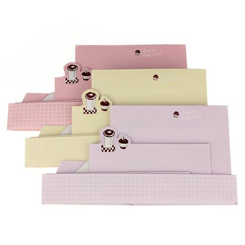 3Pcs DIY Paper Board Storage Box Desk Decor Organizer Stationery Makeup Cosmetic