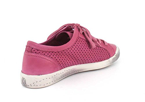Softinos Kvinna Ica Rosa Tvättade Läder Sneaker - 40