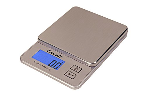 Escali Compact Digital Scale Stainless